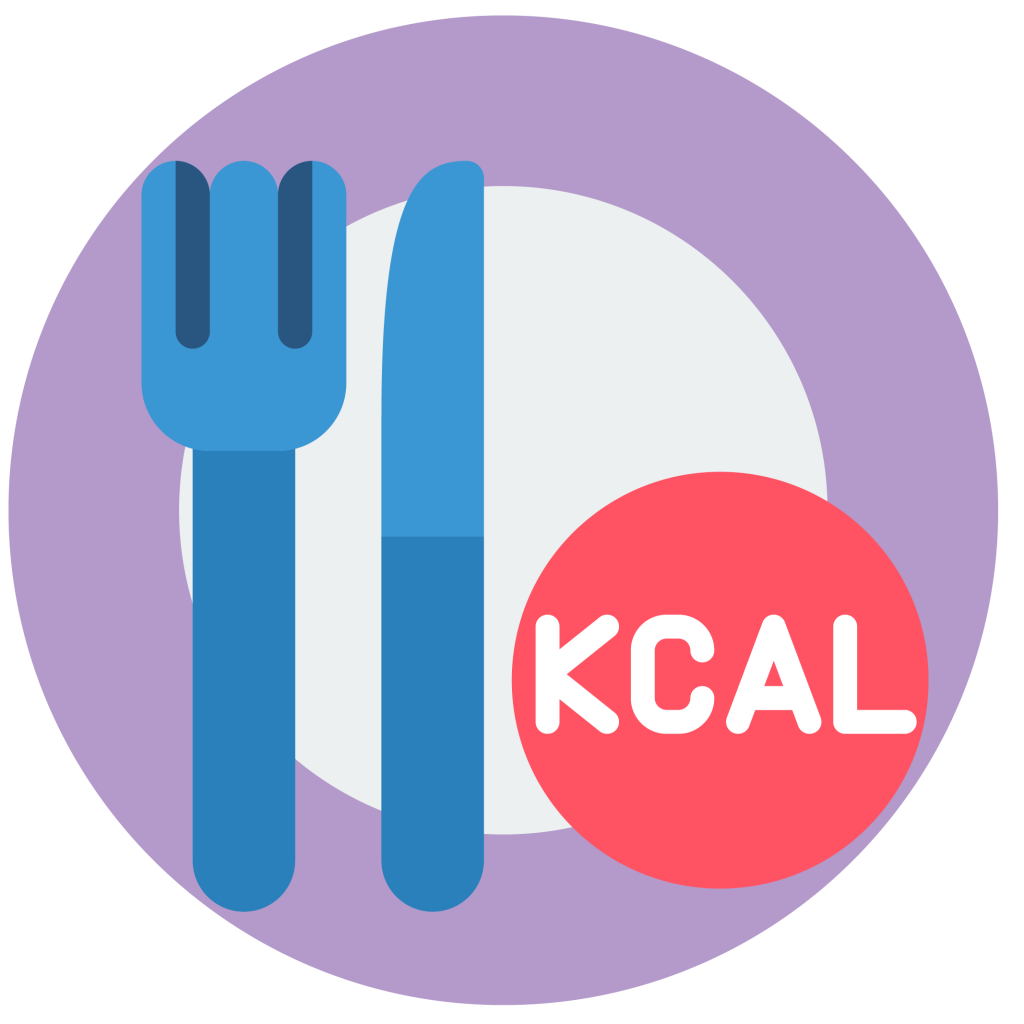 plate with utensils icon